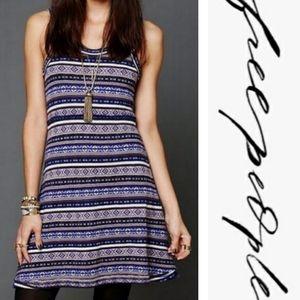 NEW Free People Fair Isle Wool Dress